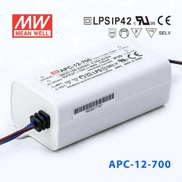Mean Well APC-12-700 Power Supply 12W 700mA