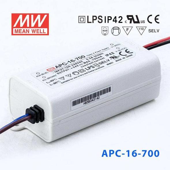 Mean Well APC-16-700 Power Supply 16W 700mA