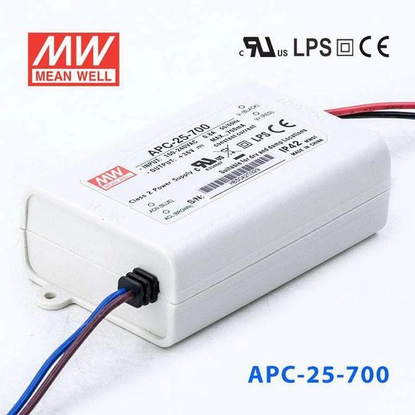 Mean Well APC-25-700 Power Supply 25W 700mA