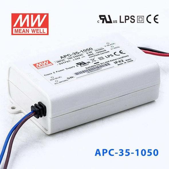 Mean Well APC-35-1050 Power Supply 35W 1050mA