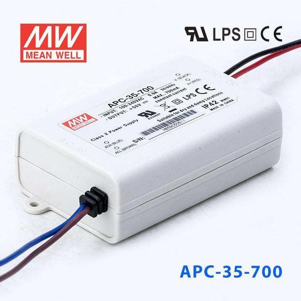 Mean Well APC-35-700 Power Supply 35W 700mA