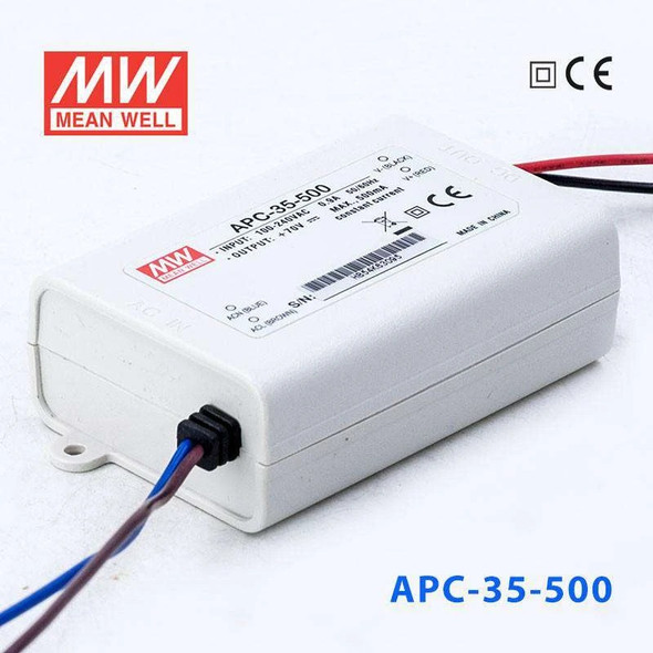 Mean Well APC-35-500 Power Supply 35W 500mA