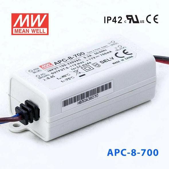 Mean Well APC-8-700 Power Supply 8W 700mA