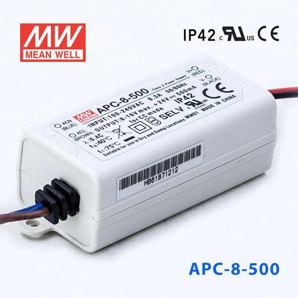 Mean Well APC-8-500 Power Supply 8W 500mA