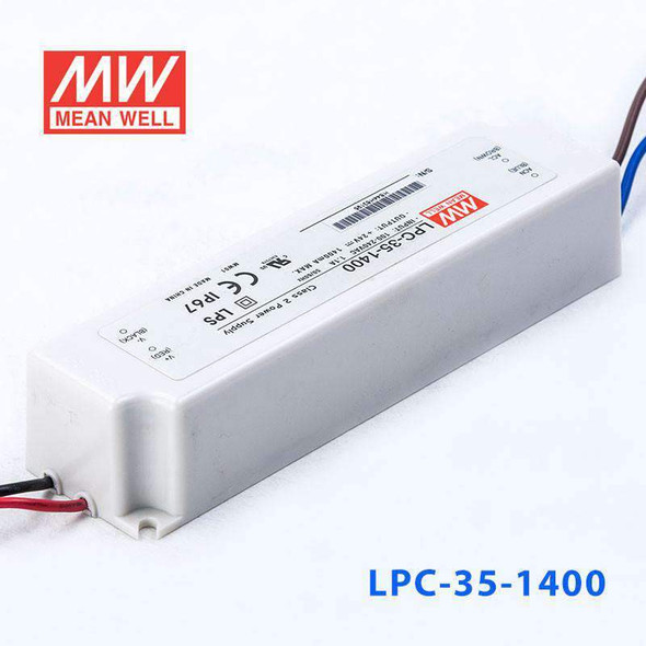 Mean Well LPC-35-1400 Power Supply 35W 1400mA