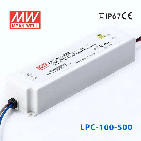 Mean Well LPC-100-500 Power Supply 100W 500mA