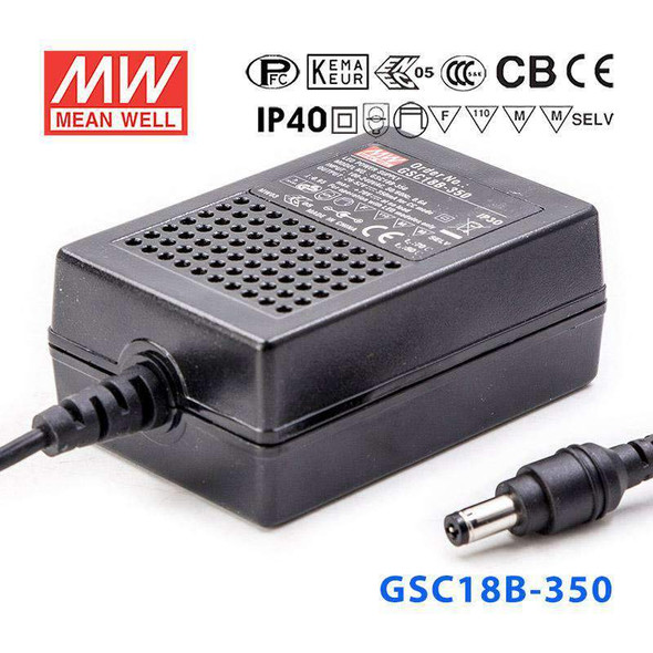 Mean Well GSC18B-350 Power Supply 18W 350A
