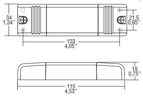 TCI Casambi tunable white 1-10V signal converter(127637)