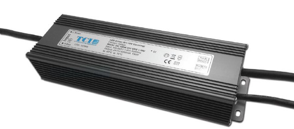 TCI 150W 24V constant voltage driver - 1-10V dimmable(127909)