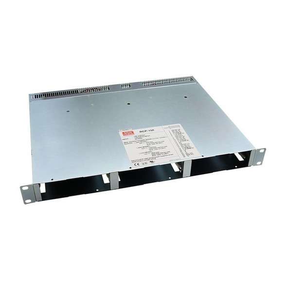 Meanwell RCP-1UI 19 inch 1U Rack for RCP-1000 Series with IEC320-C14 AC Inlet