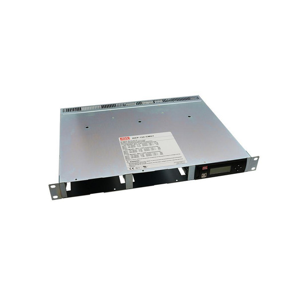 Mean Well RKP-1UI Rack Housing with Terminal Inlet & Monitoring for RCP-2000 Series