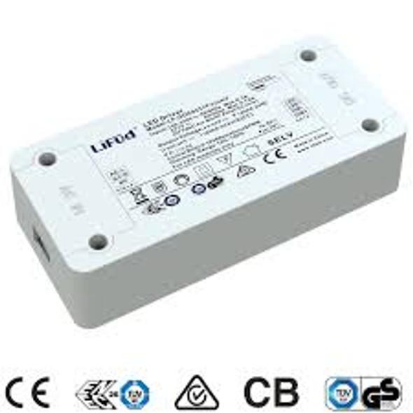 Lifud LF-GDE060YF-1300 LED Driver 1.134--30W 1300mA - Dimmable