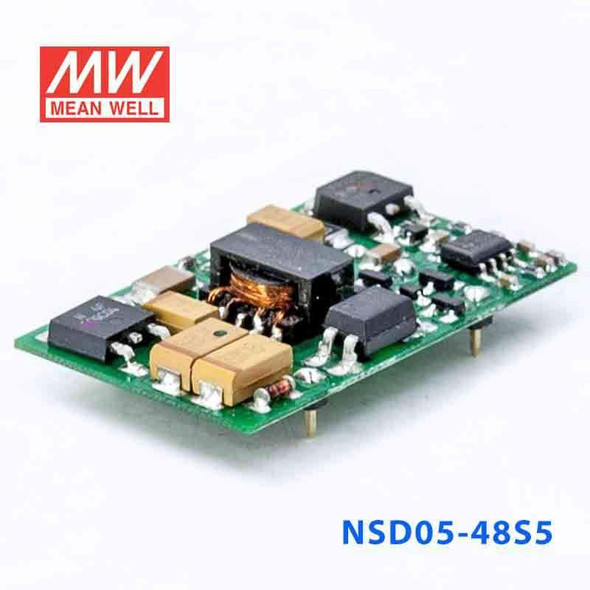 Meanwell NSD05-48S5 DC-DC Converter - 5W - 18~72V in 5V out