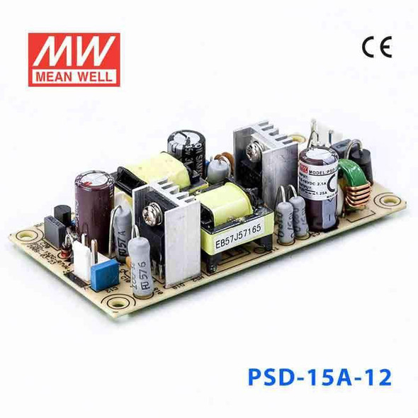 Meanwell PSD-15A-12 DC-DC Converter - 15W - 9.2~18V in 12V out