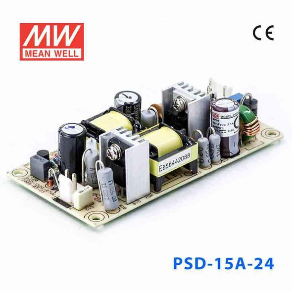 Meanwell PSD-15A-24 DC-DC Converter - 14.4W - 9.2~18V in 24V out