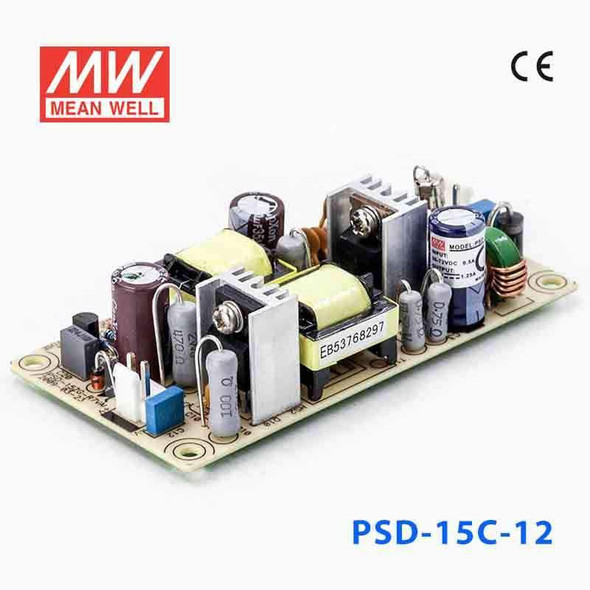 Meanwell PSD-15C-12 DC-DC Converter - 15W - 36~72V in 12V out