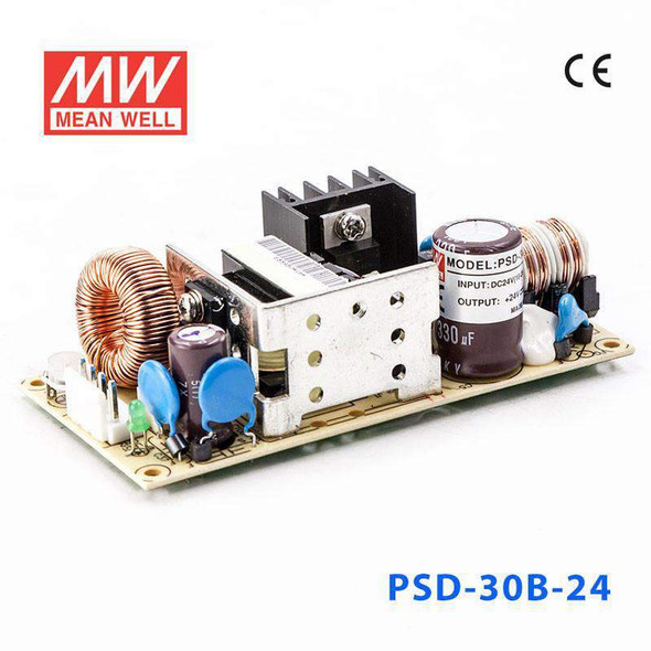Meanwell PSD-30B-24 DC-DC Converter - 30W - 18~36V in 24V out