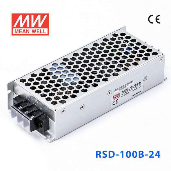 Meanwell RSD-100B-24 DC-DC Converter - 100.8W - 16.8~31.2V in 24V out