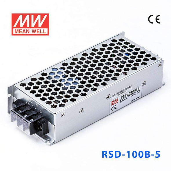 Meanwell RSD-100B-5 DC-DC Converter - 100W - 16.8~31.2V in 5V out