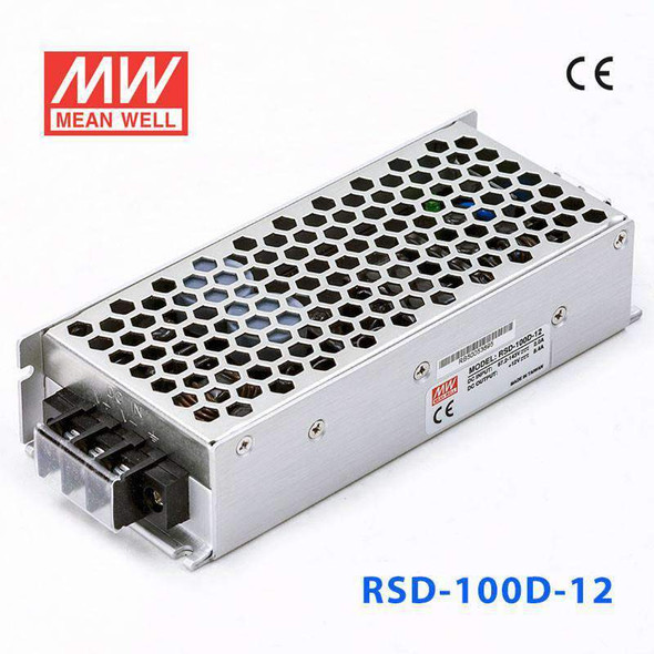 Meanwell RSD-100D-12 DC-DC Converter - 100.8W - 67.2~143V in 12V out