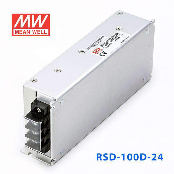 Meanwell RSD-100D-24 DC-DC Converter - 100.8W - 67.2~143V in 24V out