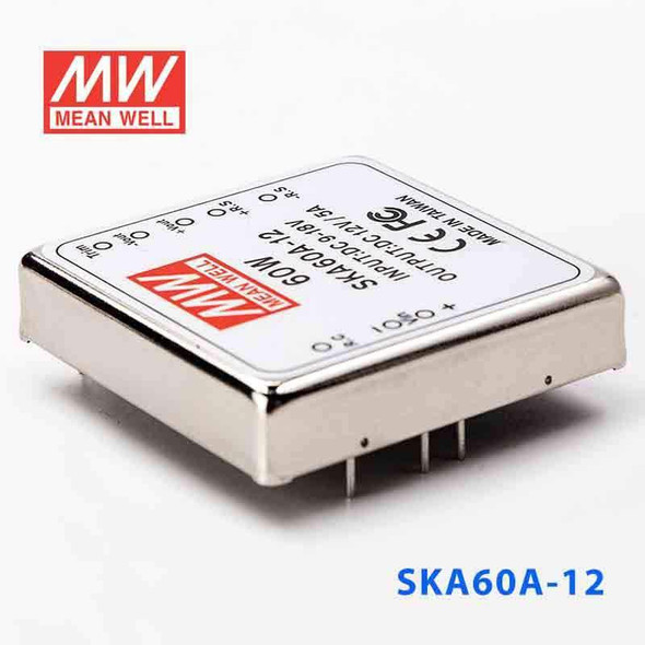Meanwell SKA60A-12 DC-DC Converter - 60W - 9~18V in 12V out