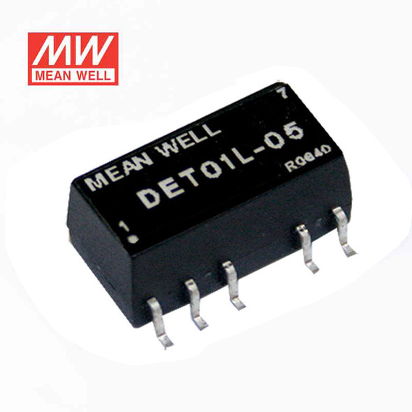 Meanwell DET01L-12 DC-DC Converter - 1W 5V DC in 12V out