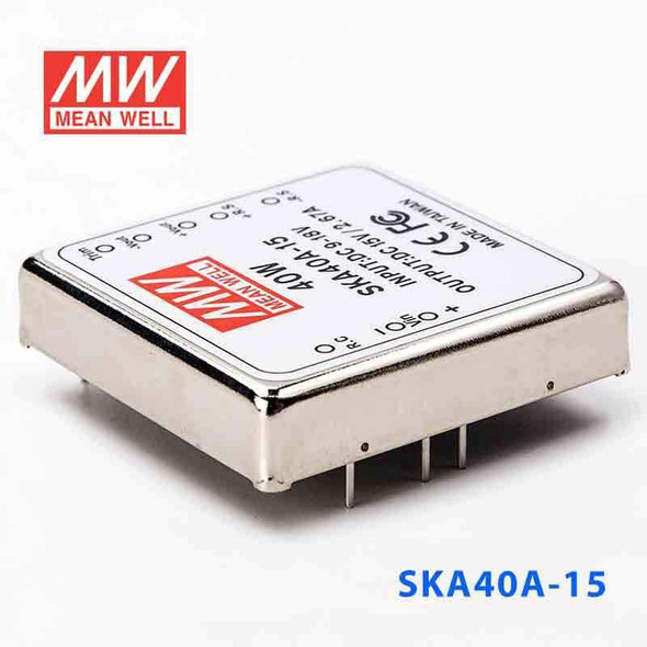 Meanwell SKA40A-15 DC-DC Converter - 35W - 9~18V in 15V out