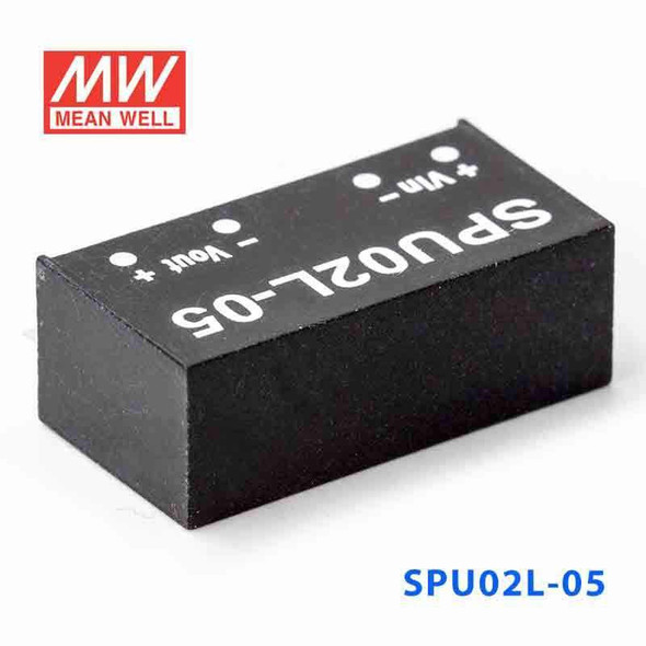 Meanwell SPU02L-05 DC-DC Converter - 2W - 4.5~5.5V in 5V out