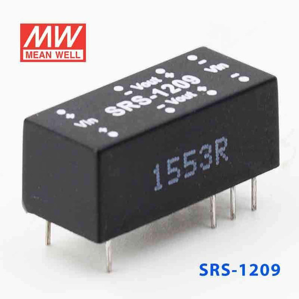 Meanwell SRS-1209 DC-DC Converter - 0.5W - 10.8~13.2V in 9V out
