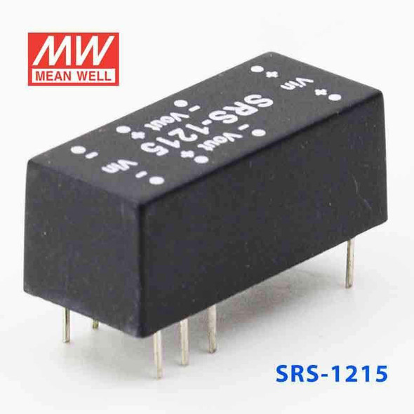 Meanwell SRS-1215 DC-DC Converter - 0.5W - 10.8~13.2V in 15V out
