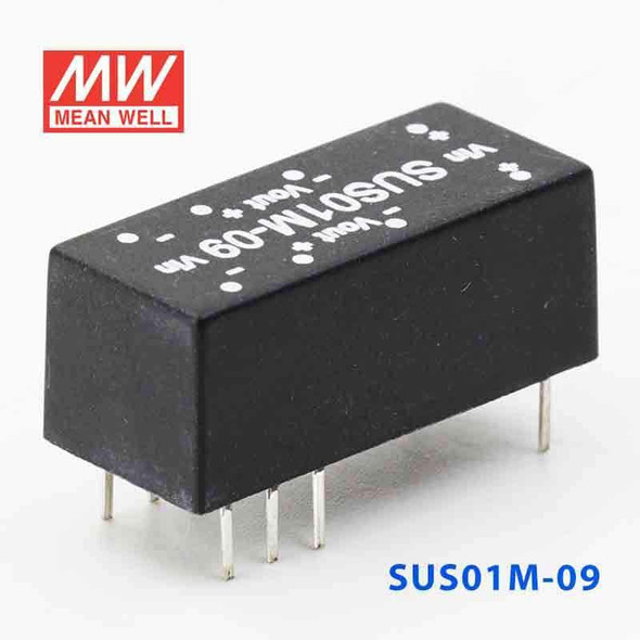 Meanwell SUS01M-09 DC-DC Converter - 1W - 10.8~13.2V in 9V out