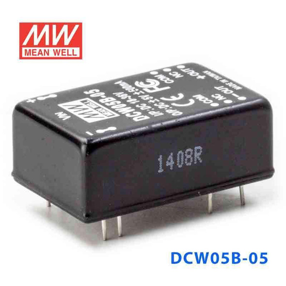 Meanwell DCW05B-05 DC-DC Converter - 5W - 18~36V in ±5V out