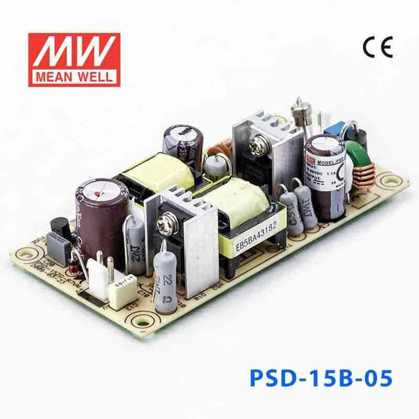 Meanwell PSD-15B-05 DC-DC Converter - 15W - 18~36V in 5V out