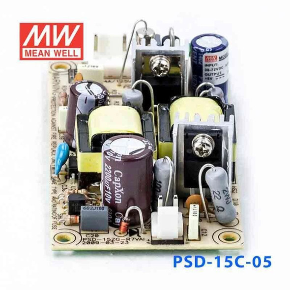 Meanwell PSD-15C-05 DC-DC Converter - 15W - 36~72V in 5V out