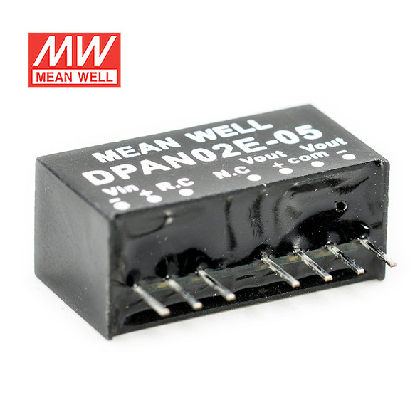 Meanwell DPAN02E-05 DC-DC Converter - 2W - 4.5~9V in ±5V out