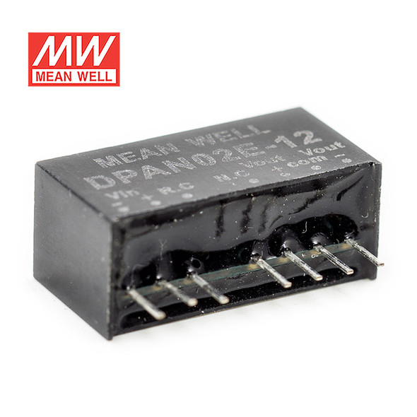 Meanwell DPAN02E-12 DC-DC Converter - 2W - 4.5~9V in ±12V out