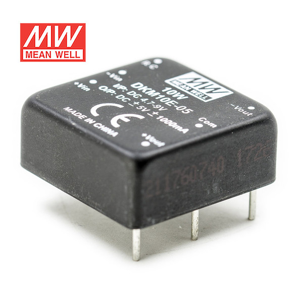 Meanwell DKM10E-05 DC-DC Converter - 10W - 4.7~9V in ±5V out