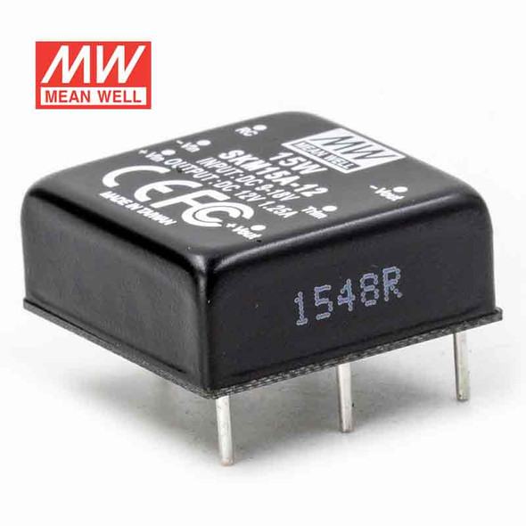 Meanwell SKM15A-12 DC-DC Converter - 15W - 9~18V in 12V out