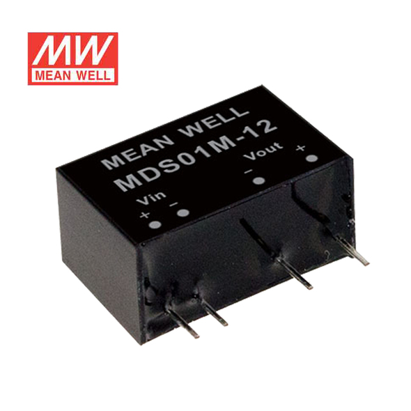 Meanwell MDS01L-12 DC-DC Converter - 1W - 4.5~5.5V in 12V out
