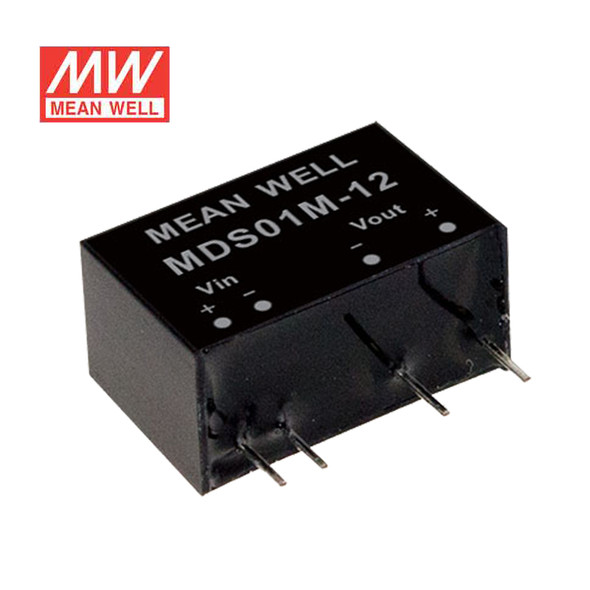 Meanwell MDS01L-15 DC-DC Converter - 1W - 4.5~5.5V in 15V out