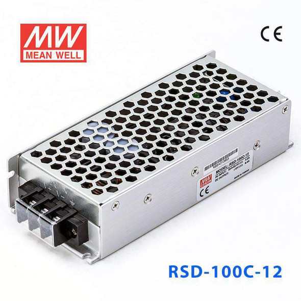 Meanwell RSD-100C-12 DC-DC Converter - 100.8W - 33.6~62.4V in 12V out
