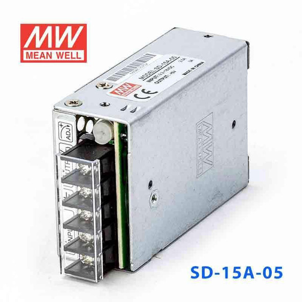 MeanWell SD-15A-5 DC-DC Converter - 15W - 9.2~18V in 5V out