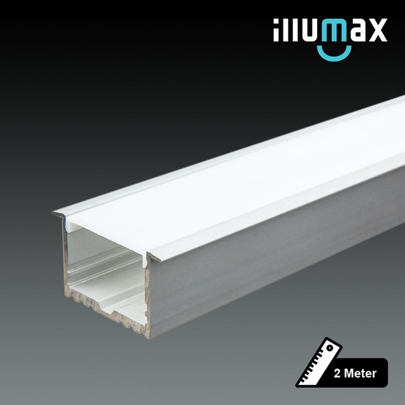 LED Extrusion EXRS35 Linear Profile - 2 Metres