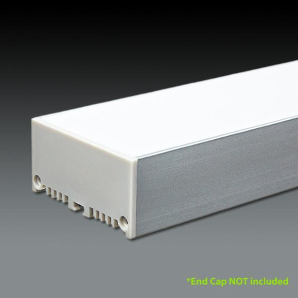 LED Extrusion EXLP48 Linear Profile - 2 Metres
