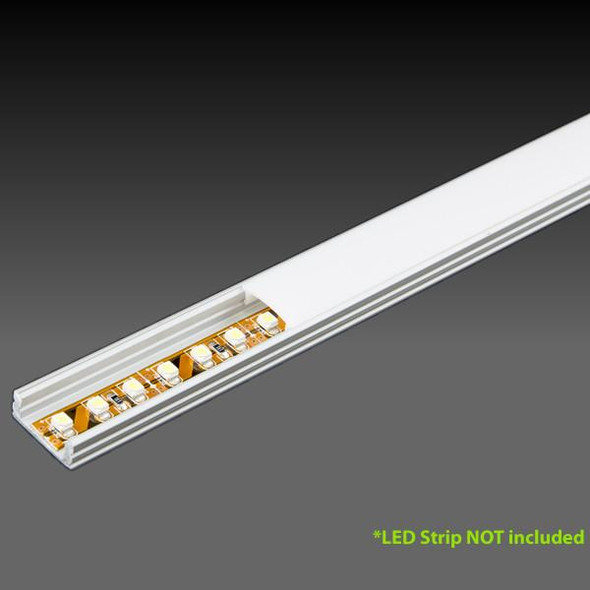 LED Extrusion EXLP03 Linear Profile - 2 Metres