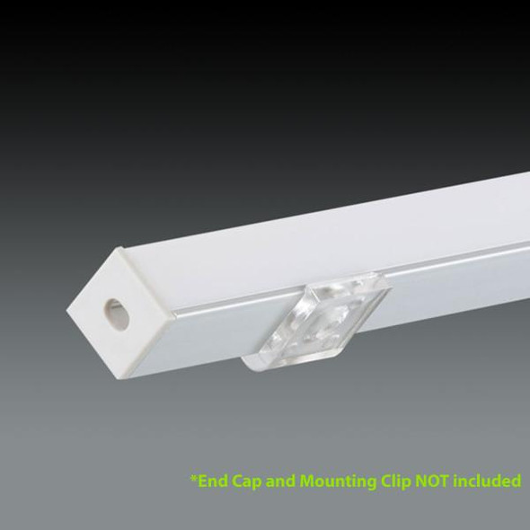 LED Extrusion EXCR02 Linear Profile - 2 Metres