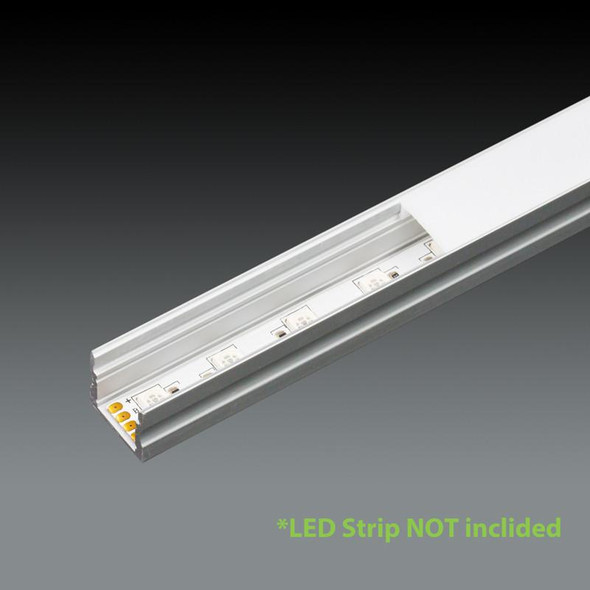 LED Extrusion EXLP02 Linear Profile - 2 Metres