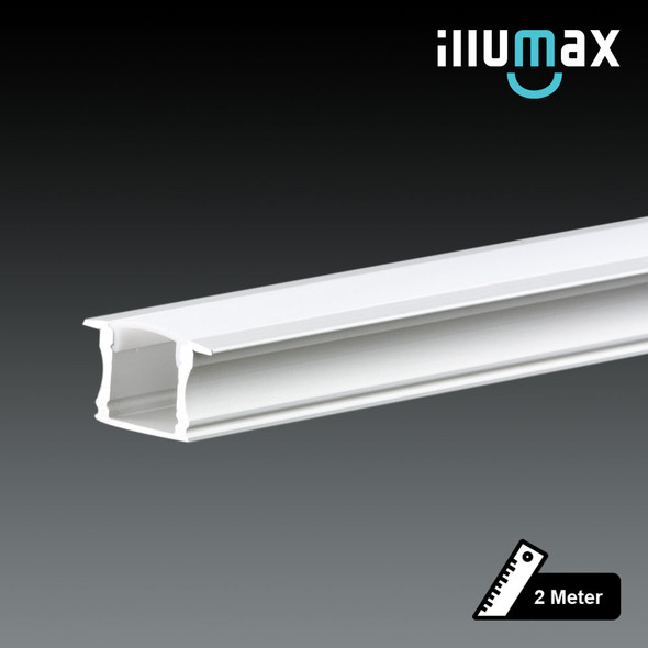LED Extrusion EXRS01 Linear Profile - 2 Metres