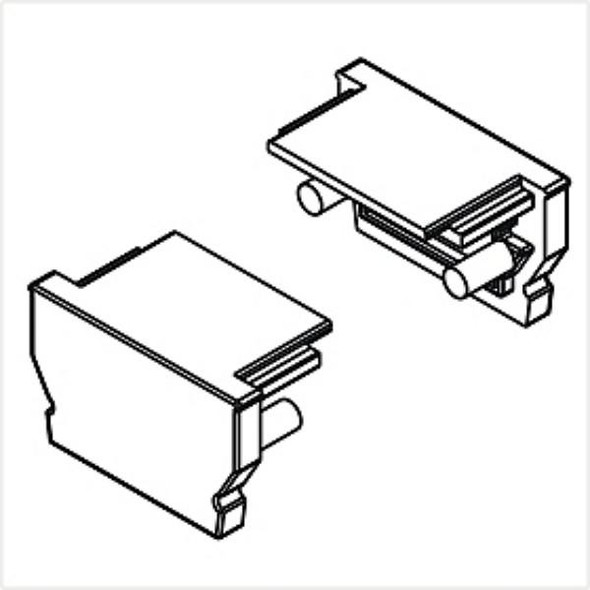 Archilight VRITOS End Cap for Linear U Shape VR-12U-2M - Without Wiring Holes